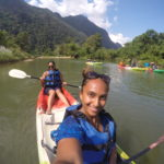 Cave Tubing, Kayaking + The Blue Lagoon in Vang Vieng