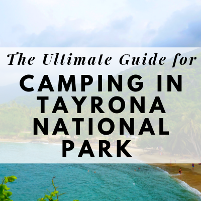 guide for camping in tayrona national park