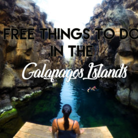 Free things to do in the Galapagos Islands
