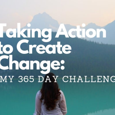 take action to create change