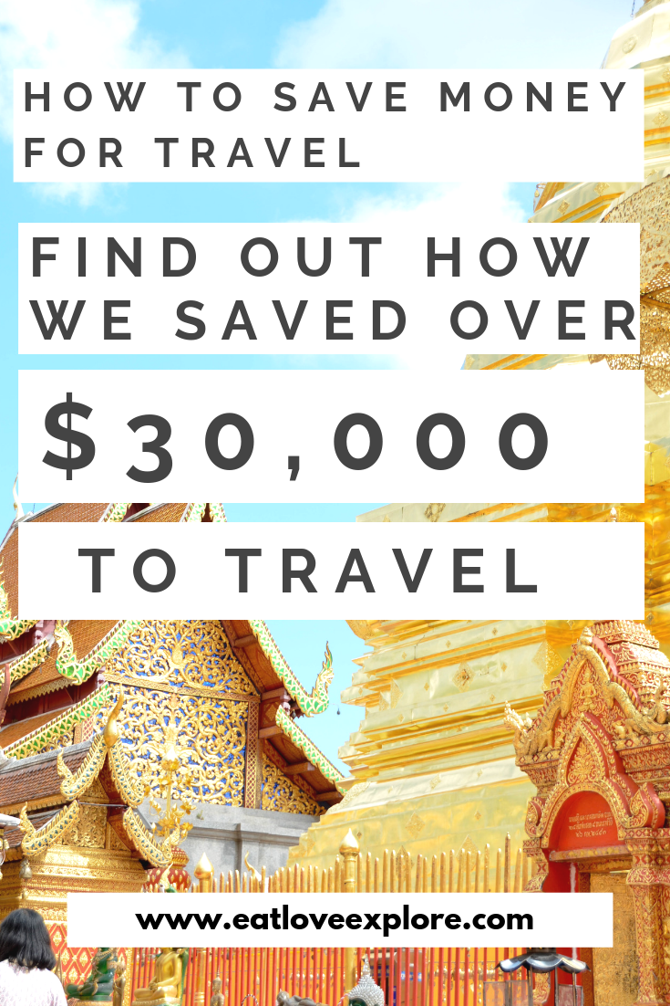 How we saved $30,000 in 8 Months so we could travel - Eat