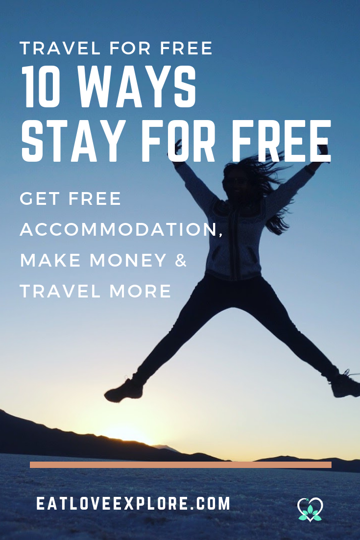Get Free Accommodation to Travel for Free