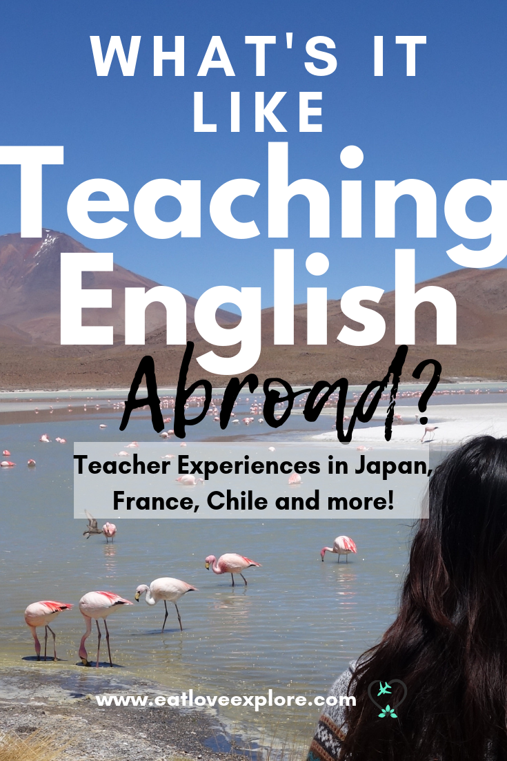 what's it like teaching english abroad