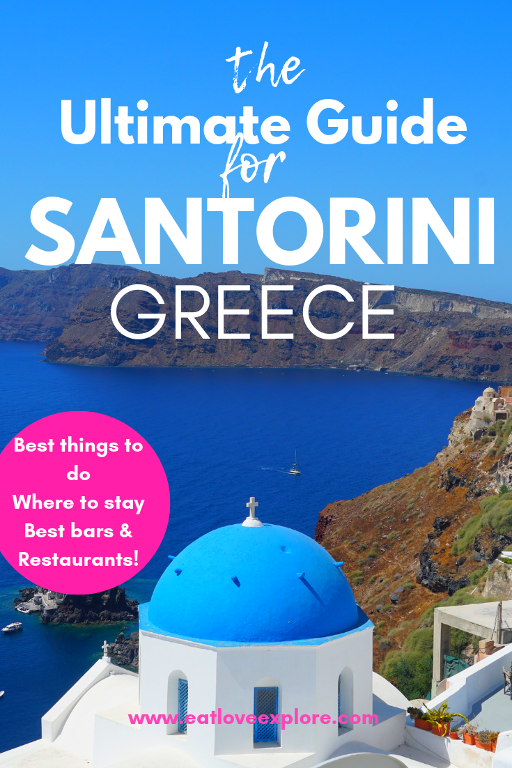 best things to do in santorini