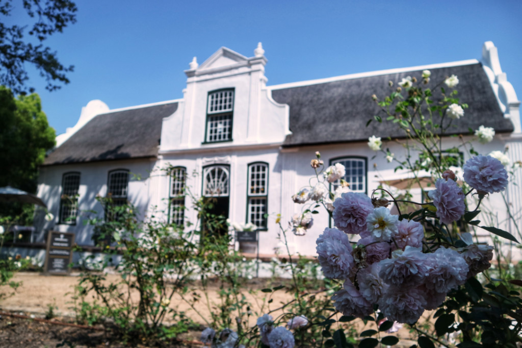 Boschendal wine farm in South Africa