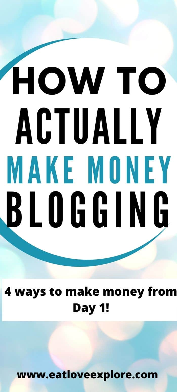 How to make money blogging with a new blog